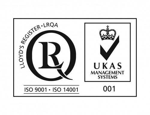 ISO9001,ISO14001 with UKAS